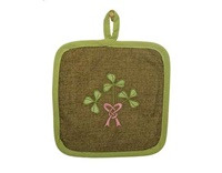 Image for Shamrock Bouquet Pot Holder