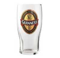 Image for Guinness Red Label Pint Glass