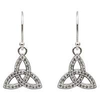 Image for Trinity Earrings Adorned with Swarovski Crystal