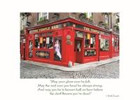 Image for Irish Temple Bar Birthday Card