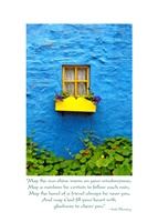 Image for Blue House Kinsale Irish Blessing, Get Well Card