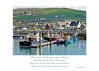 Image for Dingle Harbour, Birthday Card