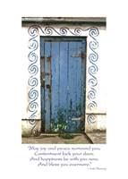 Image for Dingle Blue Door Irish Birthday Card