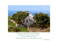 Image for Irish Wisdom Doolin Cottage Birthday Card