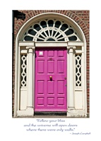 Image for Irish Georgian Door Graduation Card