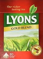 Lyons Gold Blend Tea Bags 80s