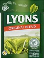 Image for Lyons Original Blend Tea Bags 80s