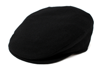 Image for Hanna Black Vintage Snap Cap