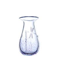 Image for Irish Handmade Glass Wild Heather Large Vase