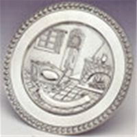 Image for Mullingar Pewter Birth Plaque