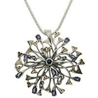 Image for Keith Jack Rhapsody Necklace -Iolite