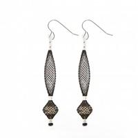 Image for Blaithin Ennis Topaz Silver Small Droplet Earrings