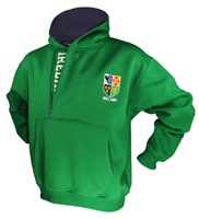 Image for Ireland Half Zip Super Soft Hoodie Green
