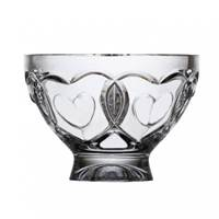 Image for Emerald Crystal Endearment Footed Bowl 6.25""
