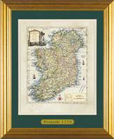 OBrien Ancient Map of Ireland Double Mount Matt F