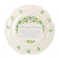 Image for Belleek Marriage Blessing Plate