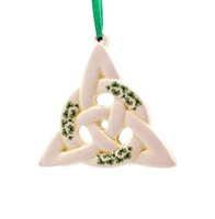 Image for Fine Bone China Hanging Trinity Knot Ornament