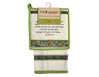 Image for Royal Tara Irish Weave Irish Blessing Tea Towel and Pot Holder