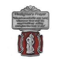 Image for Firefighter Red Enamel Visor Clip