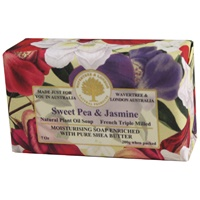 Image for Sweet Pea and Jasmine French Triple Milled Soap
