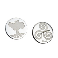 Image for Growing Home Earrings in Sterling by Tracy Gilbert
