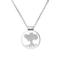 Image for Tracy Gilbert Growing Home Pendant in Sterling