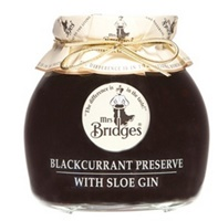 Mrs. Bridges Blackcurrant Preserve with Sloe Gin