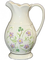 Image for Belleek Irish Flax Pitcher