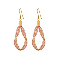 Image for Blaithin Ennis Blush Gold- Medium Teardrop Earrings