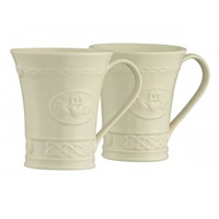 Image for Belleek Claddagh Mug 10oz (Set 2)