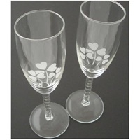 Image for Shamrock Toasting Flutes