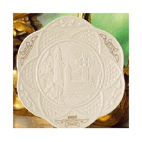 Image for Belleek China Glendalough Plate