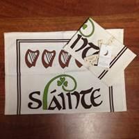 Image for Wild Goose Tea Towel, Slainte