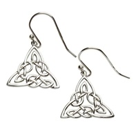 Image for Shanore Silver Celtic Intricate Design Earrings