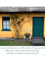 Image for Irish Thatch House Wedding Card