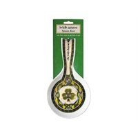 Image for Royal Tara Irish Weave Irish Shamrock Spoon Rest