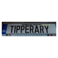 Image for Tipperary Irish Car Reg Plate