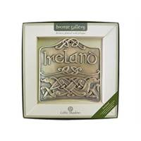 Image for Royal Tara Bronze Plated Ireland Plaque