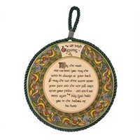 Image for Royal Tara Irish Weave Irish Blessing Rope Plaque