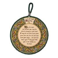 Image for Royal Tara Irish Weave Irish Blessing Rope Plaque