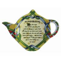 Image for Irish Blessing Tea Bag Holder