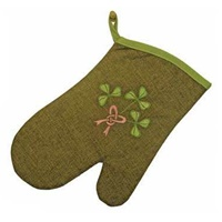 Image for Shamrock Bouquet Oven Mitt