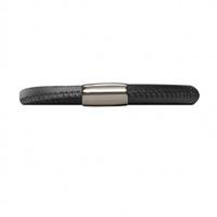 Image for Origin Single Turn Leather Bracelet, Black