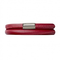 Image for Origin Double Turn Bracelet TD634, Maroon