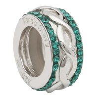 Image for Celtic Knot Bead Encrusted with Swarovski Crystal