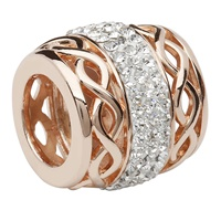 Image for Origin Swarovski Rose Gold Celtic Charm TD613