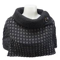 Image for Branigan Topper Multi Grey Honeycomb