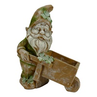 Image for Leprechaun Wheeling for Gold Planter