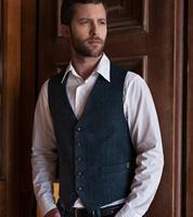 Image for Mucros Weavers Tweed Waistcoat 34