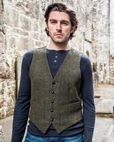 Image for Mucros Weavers Tweed Waistcoat 27